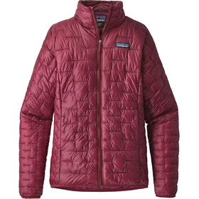Patagonia Micro Puff Jas Dames rood